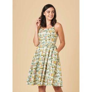 Joanie Clothing Provence Print Dress